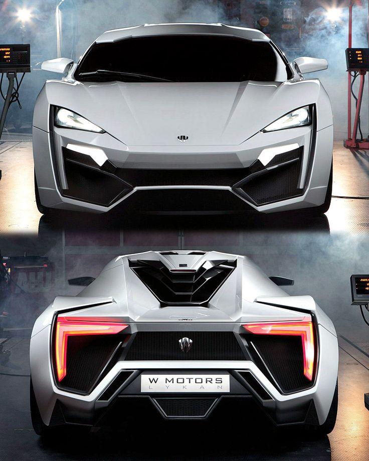 2013 W Motors Lykan Hypersport.