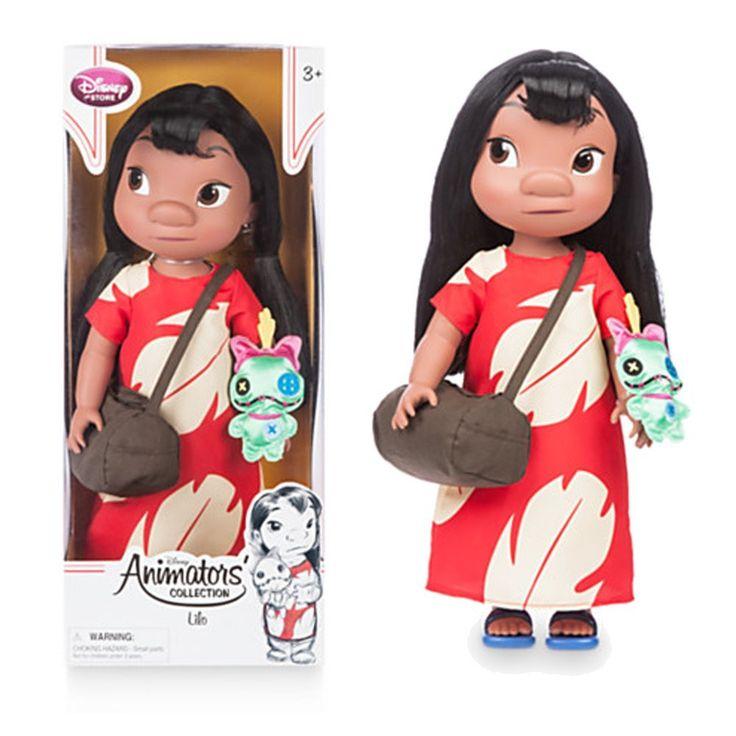 Amazon.com: Disney Animators' Collection Lilo Doll - Lilo and Stitch - 16'' - New: Toys & Games