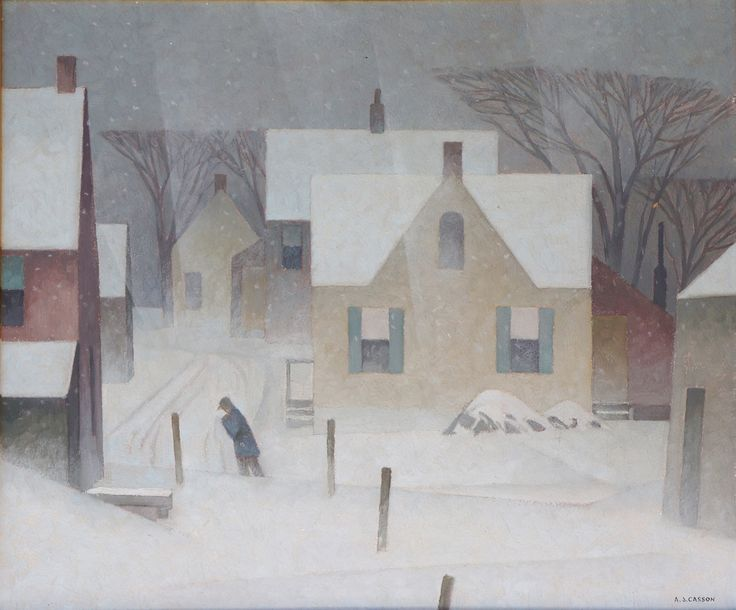 AJ Casson, Canadian Group of Seven