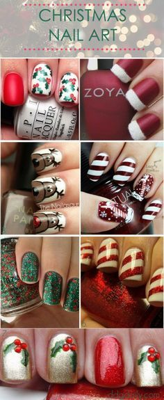 """I like the """"Santa Hat"""" nails in the top right corner"""