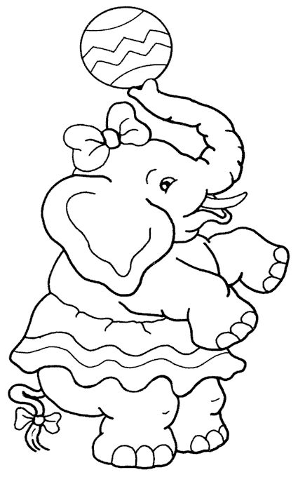 Clown Coloring Pages 680px