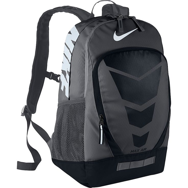 nike max air vapor backpack black and white clip