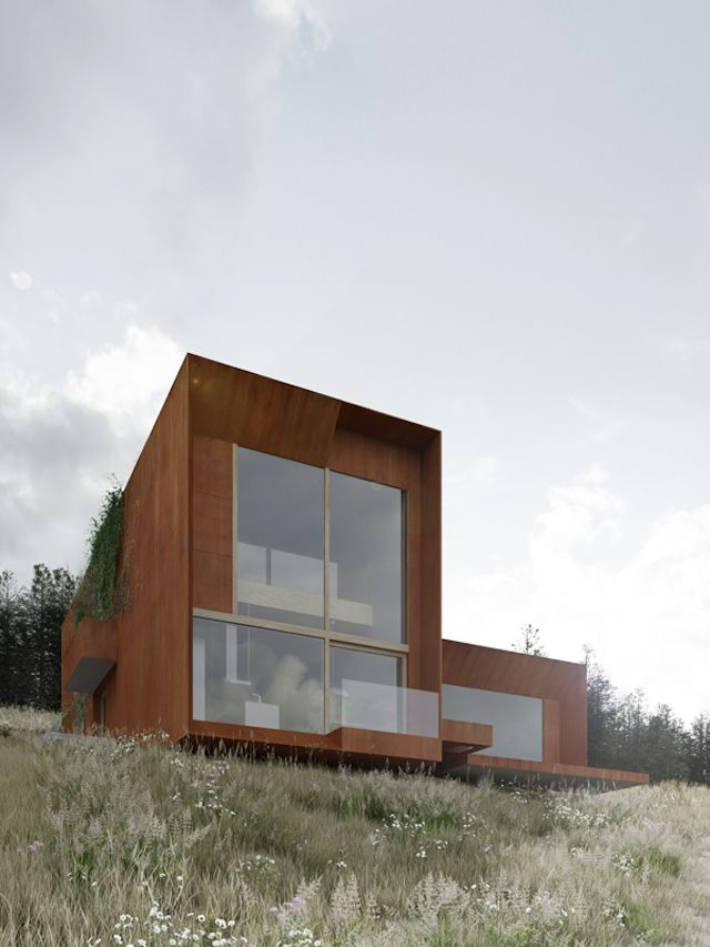 Studio DE.MATERIA - the House on the Hills located in Chodziez, a small city in Poland