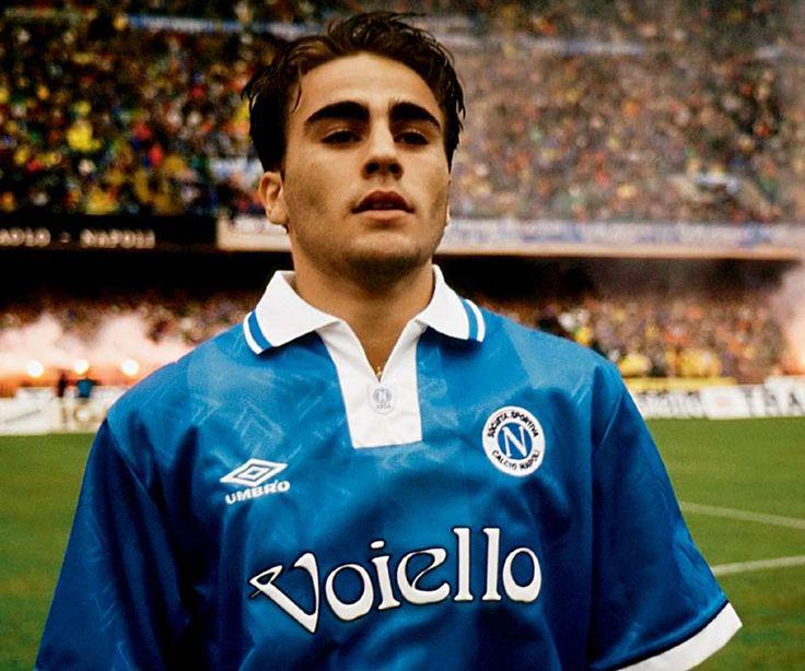 thevintagefootballclub: Fabio Cannavaro à Naples (1992-95).
