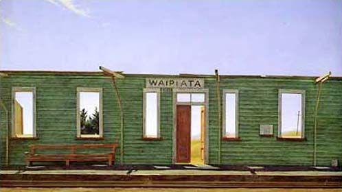 Demolition at Waipiata by Grahame Sydney for Sale - New Zealand Art Prints