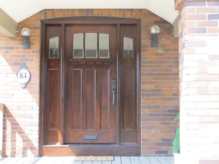 Amberwood Doors Inc: This Very Handsome #Amberwood #custom Quarter Sawn White
