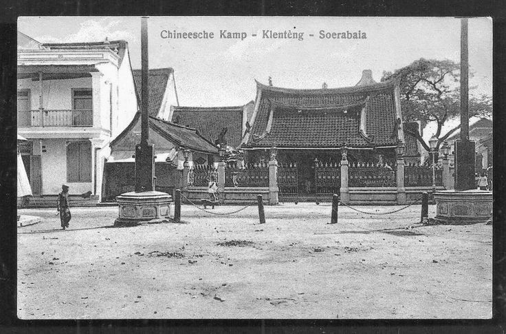 Chinese Temple at Chinatown. Surabaya 1910