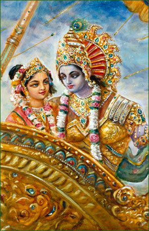 Rukmini is the first and most prominent queen of Lord Krishna. Rukmini is also considered an avatar of Lakshmi, the Goddess of fortune.