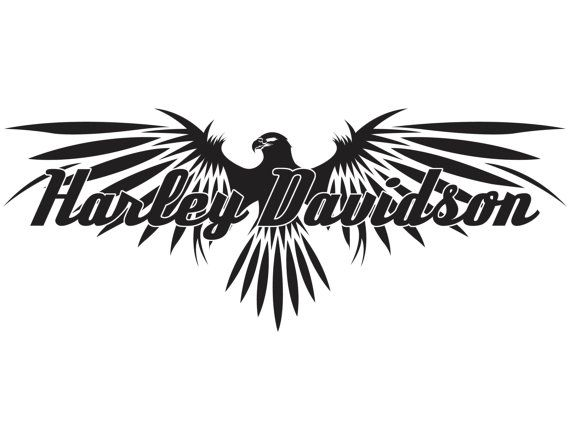 Harley davidson decal by Highqualitydecals on Etsy, $15.00