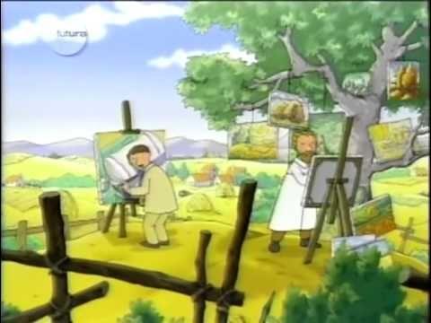 """Vicent Van Gogh. Episódio da série de animação """"A Galeria de Arte de Massinha"""" da TV Escola, que apresenta as obras de grandes pintores às crianças, introduz..."""