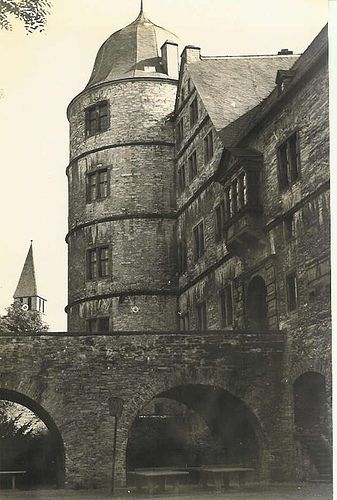 Heinrich Himmler's Wewelsburg Castle outside of Paderborn, Germany