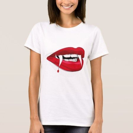 Vladdy Fangs Happy Vampire T-Shirt - click/tap to personalize and buy