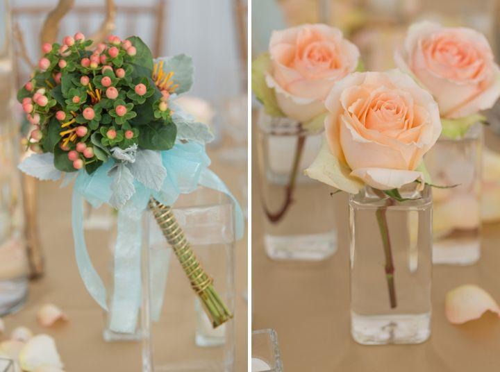 Modern Peach and Mint Wedding Inspiration