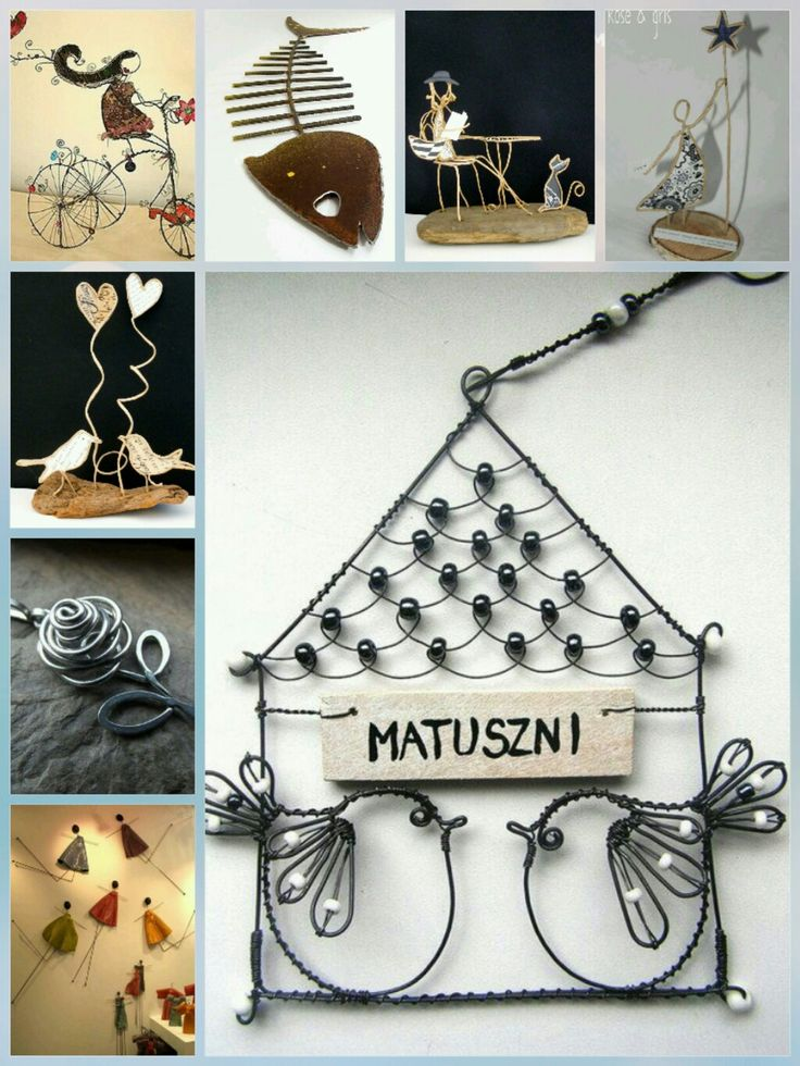 77 best Arte em arames & ferro images on Pinterest | Crafts ...