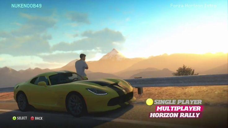 Forza Horizon 1st Intro Great Song