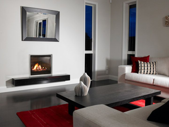 Escea AF 700 High Efficiency Gas Fireplace   Gas Log Fires U0026 Space Heaters    Our Products