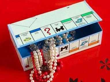 Seven ideas to use game parts when the game has lost parts. The best ones are the box made from a game board and using pieces as charms (or beads!)