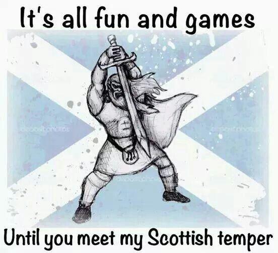 Scottish temper
