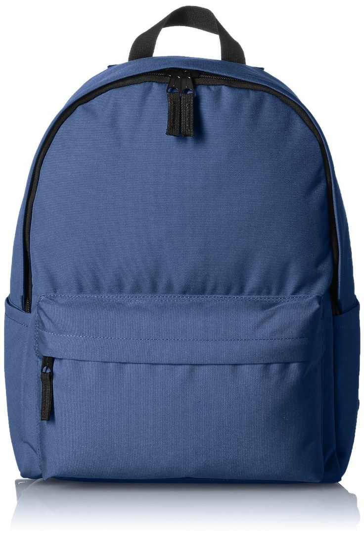 AmazonBasics Classic Backpack - Navy * You can get more details by clicking on the image.