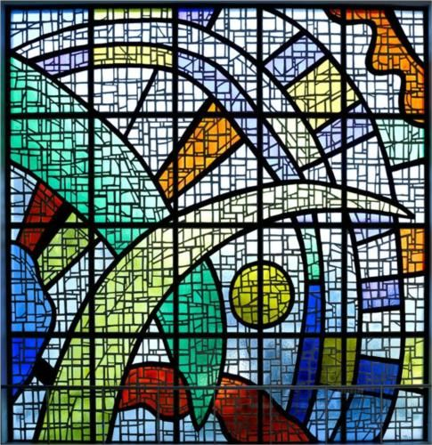 17 Best Images About Stained Glass Triangle On Pinterest
