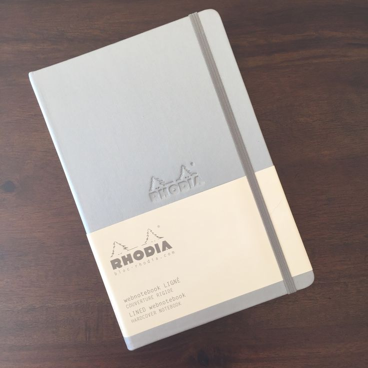 NOTEBOOK REVIEW: Rhodia Webnotebook Silver Edition | Pentulant