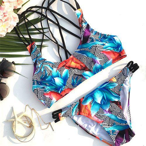 Cupshe Hit This Summer Bikini Set