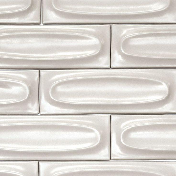Oval tile by Edith Heath