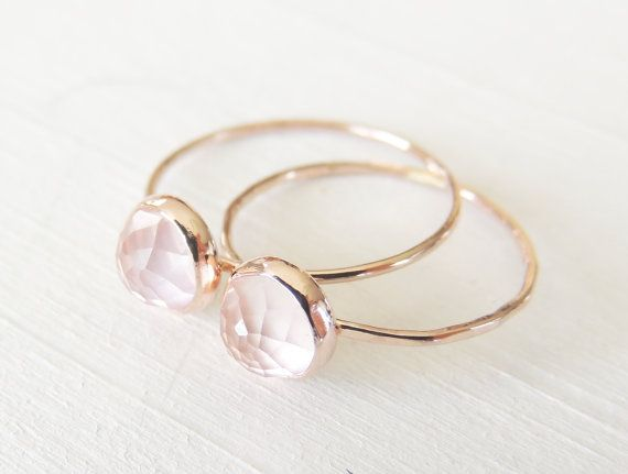 Hey, I found this really awesome Etsy listing at https://www.etsy.com/listing/213834332/rose-quartz-ring-rose-gold-ring-pink