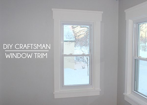 25 best Craftsman window trim ideas on Pinterest Window casing