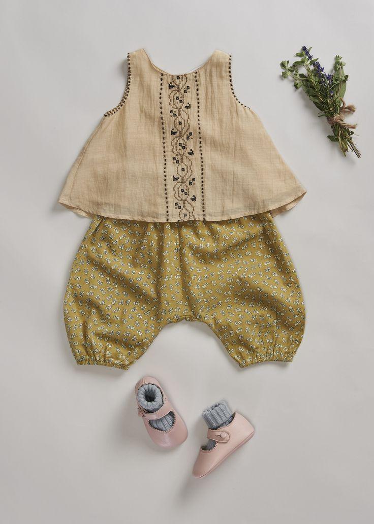 SS'16 colour studies, Olive, Caramel Baby & Child.