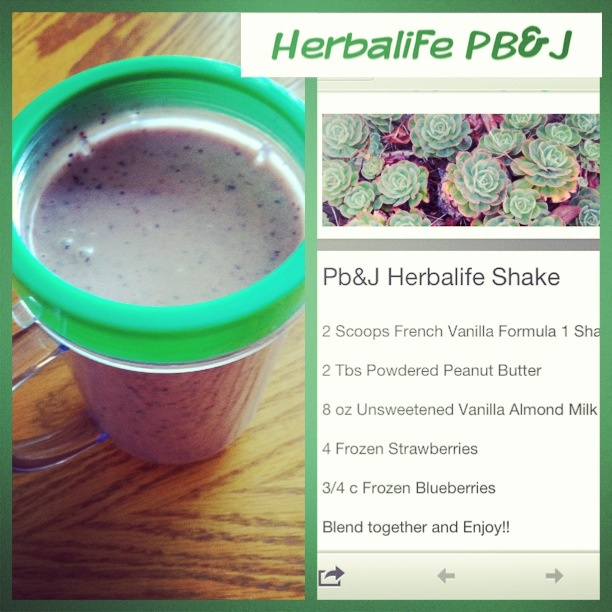 1000+ Images About Herbalife Shake Recipes On Pinterest