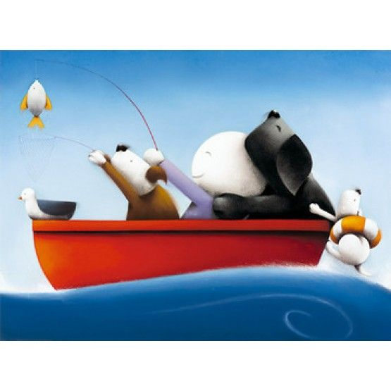 Doug Hyde - Catch of the Day - print