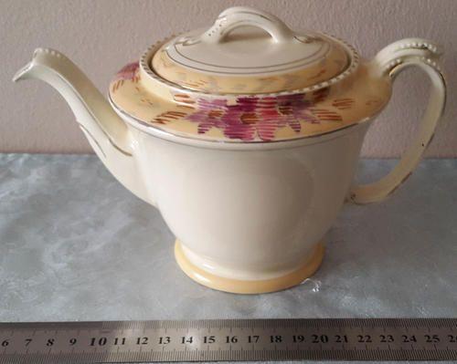 Buy Vintage Art Deco Tudor Tea Pot by Burleighfor R380.00