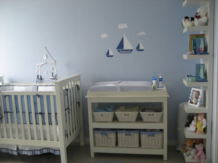12 best weedecor rooms images on pinterest babies nursery babies rooms and baby boy nurseries - Thema baby boy kamer ...