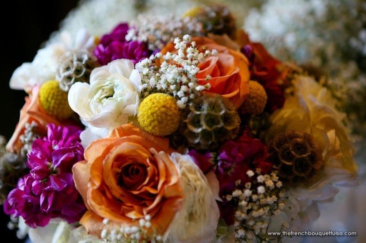 Shabby-Chic Bridal Bouquet - Petite Fleur by The French Bouquet - Art by Kriea