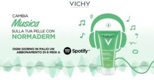 Omaggi: #Vichy #Normaderm: #vinci subito un abbonamento di 6 mesi a Spotify (link: http://ift.tt/2n0XCd8 )
