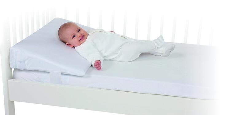 When The Mykko Comfort Sleep Cot Wedge Is Installed In