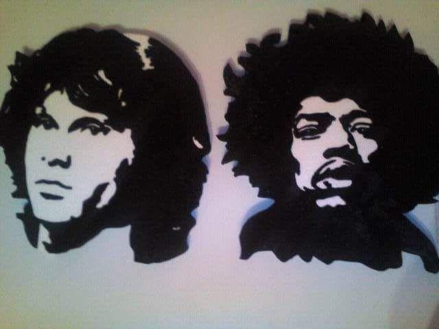 Hendrix & Morrison stencil Hungarocell, nikecell Székesfehérvár