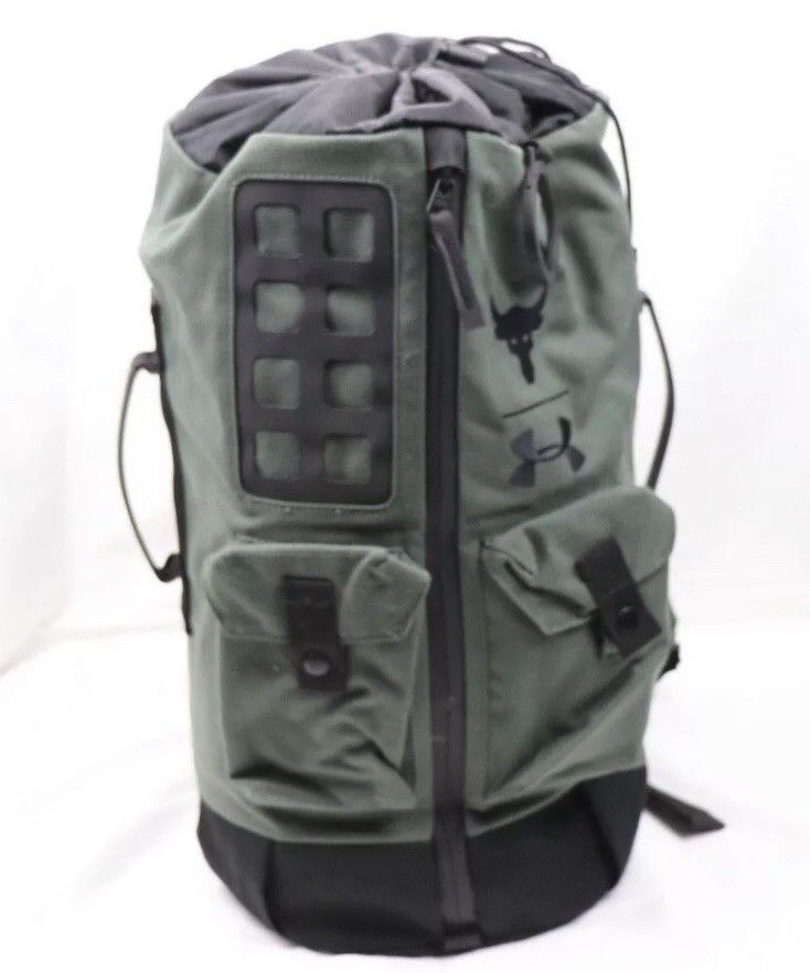 fa413c401 Under Armour X Project Rock 60 Bag Artillery Green/Black #fashion #clothing  #shoes #accessories #unisexclothingshoesaccs #unisexaccessories (ebay link)