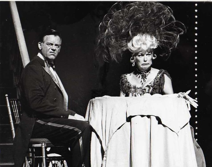 Vintage 1967 Max Showalter Betty Grable Hello Dolly Broadway. That headdress.