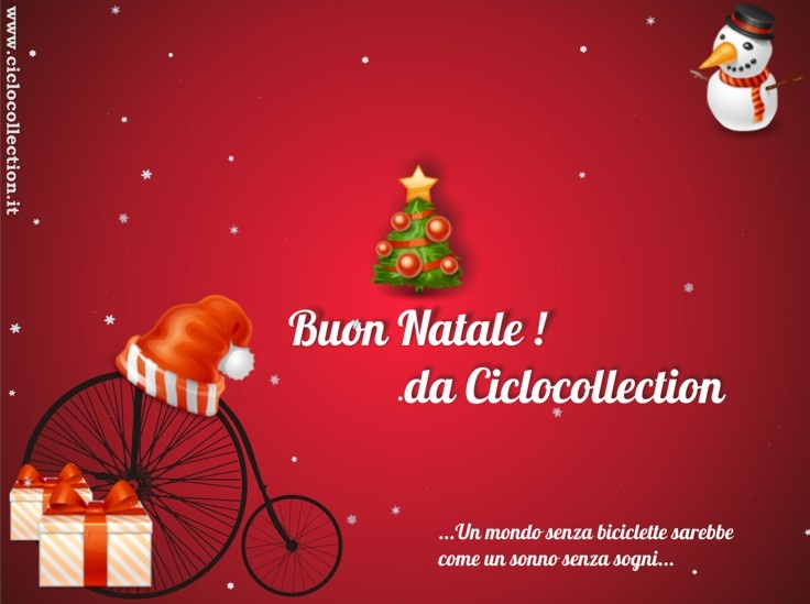 Il Museo Ciclocollection vi augura un Buon Natale e un Felice Anno nuovo - #ciclocollection #museo #natale #bicycle #2013 #newyear #christmas