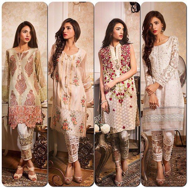 Annus Abrar Floralesque - Eid Collection 2015, Annus Abrar Floralesque Limited Edition Luxury Pret Eid collection, Annus Abrar Luxury Pret Eid Collection 2015-16