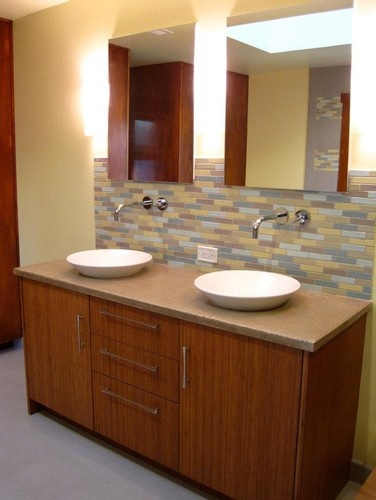 Bamboo Vanity Design, Pictures, Remodel, Decor And Ideas   Page 5