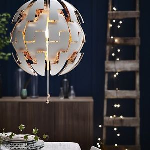 IKEA PS 2014 - Ikea-Ps-2014-Pingente-Lampada-Lustres-Luz-De-Teto-Branco-turquesa