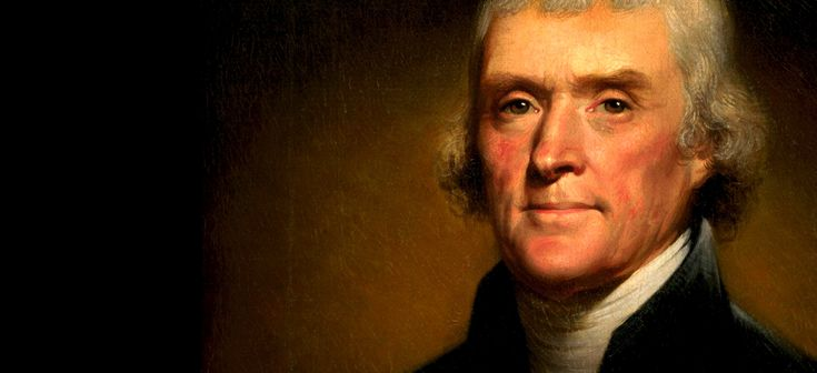 Thomas Jefferson, one of America's first coffee connoisseurs.