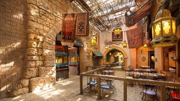 Restaurant Agrabah Café | Disneyland Paris Restaurants