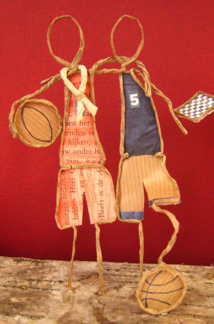Fée de papier - Vive le basket!