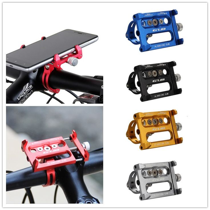 Aluminum MTB Bike Bicycle GPS holder motorcycle support Phone holder for Iphone 7 6 6s plus 5s bike handlebar bike accessories