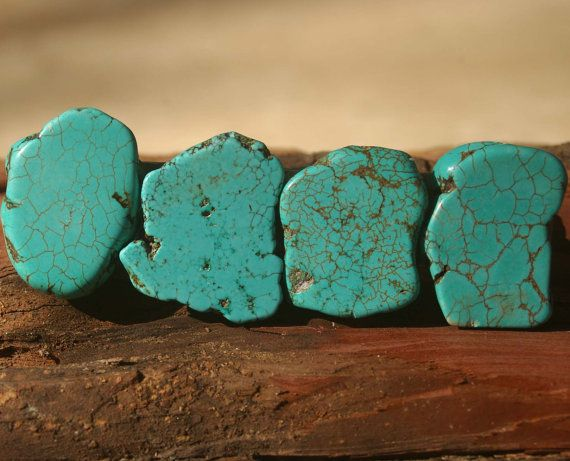 Turquoise Drawer Pull, Stone Cabinet Knobs, Kitchen Knobs and Pulls on Etsy, $18.00