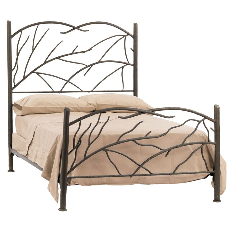 wrought iron norfork bed